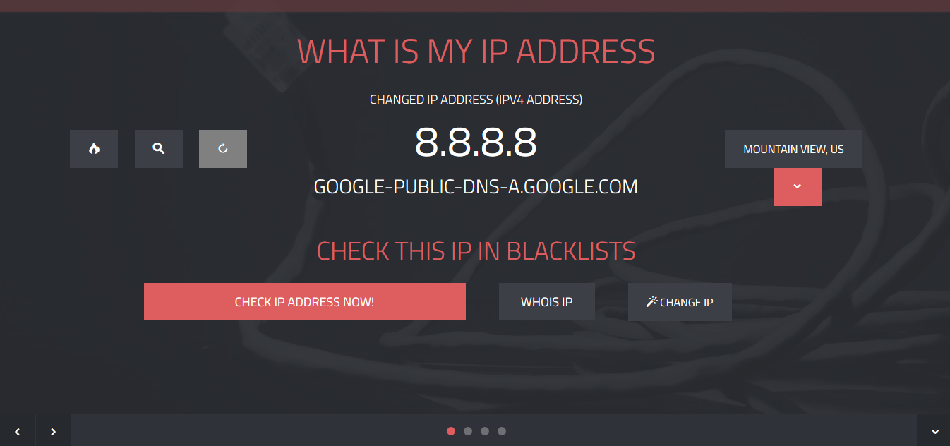 What is my IP address? IP address lookup - blacklists, domains